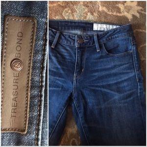 Nordstrom Treasure & Bond skinny jeans